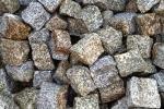 Kostka granitowa szaro-ruda, wymiary 4-6 7-9 8-11 15-17